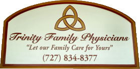 Image of Trinity Family Physicians sign